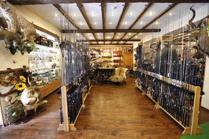 оформление рыболовного магазина