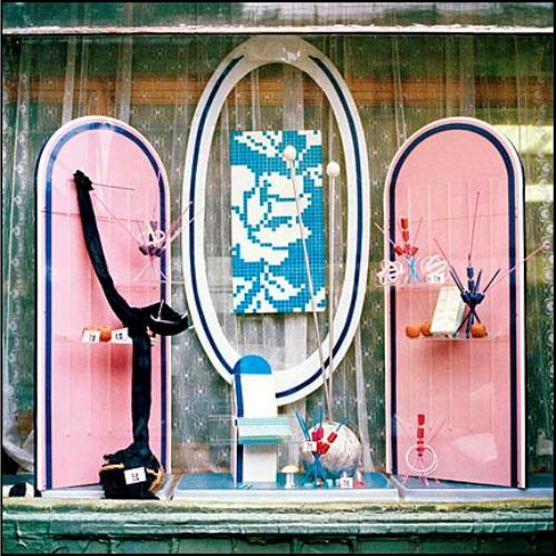 вязание, пряжа, иголки вязальные, как оформить витрину, клубок, шить, кройки и шитья, продажа, ссср, витрина оформить