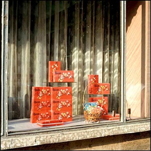 оформление уличной витрины магазина в годы СССР